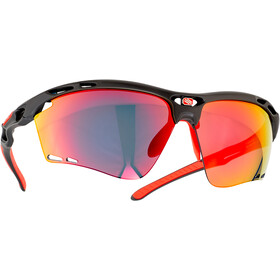Rudy Project Propulse Glasses charcoal matte/multilaser red